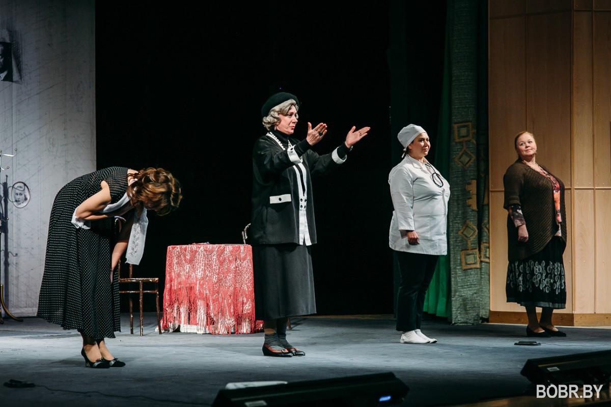 Спектакль-посвящение, спектакль-восхищение, спектакль-дар увидели в праздничный день бобруйчане