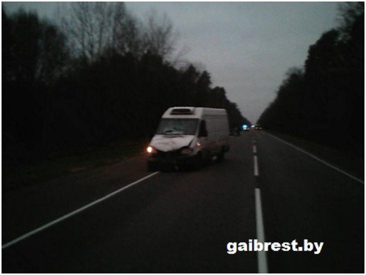 В ГАИ рассказали подробности смертельного наезда на бобруйчанина в Лунинецком районе