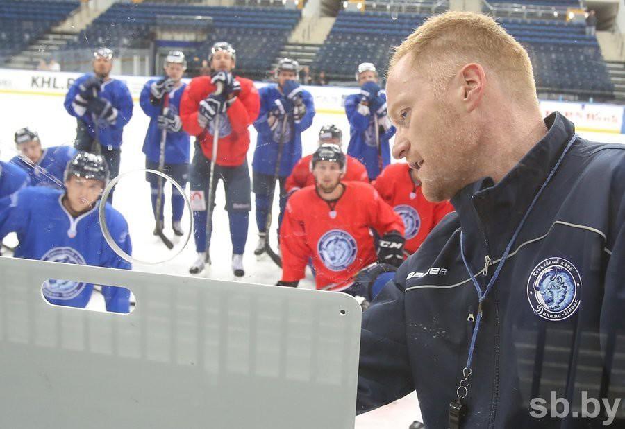 Уволен весь тренерский штаб хоккейного минского «Динамо»