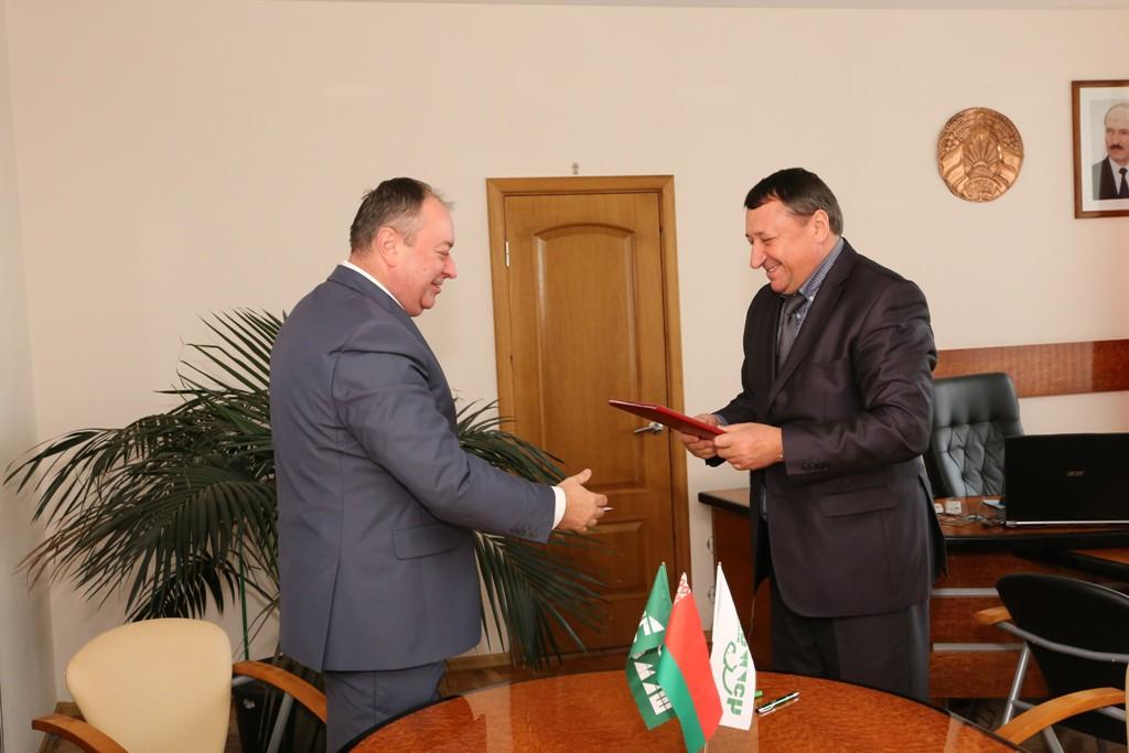 Расширяются горизонты сотрудничества бобруйских предприятий