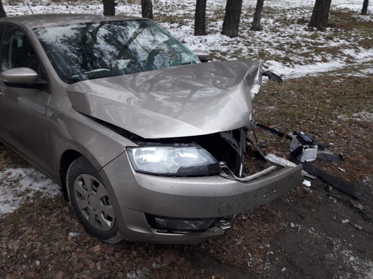 Столкнулись на выезде: в ДТП под Бобруйском пострадали оба водителя