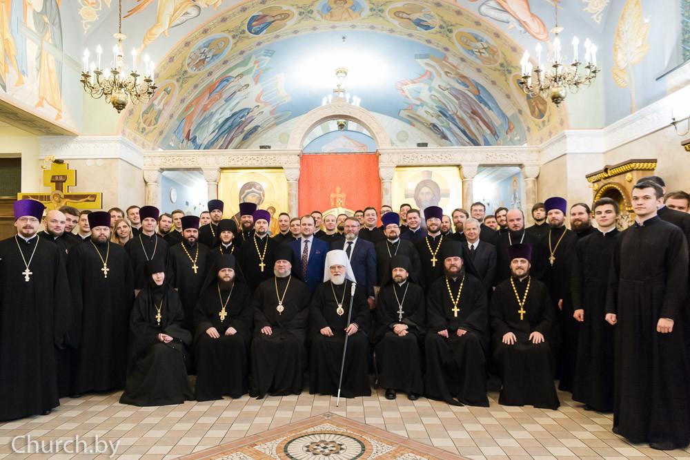 Клирик Бобруйской епархии принял участие в актовом дне Минской духовной академии