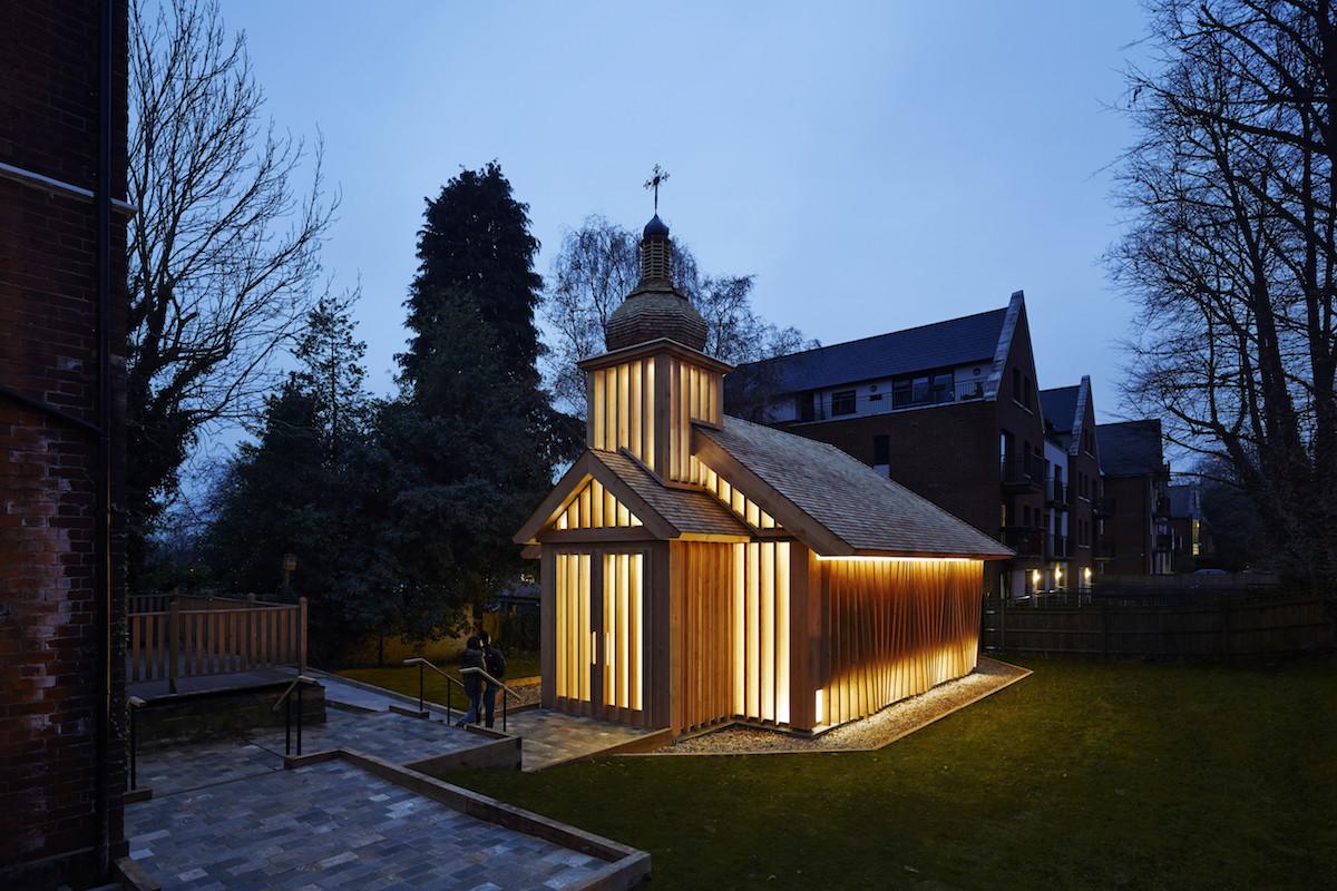 Белорусскую часовню в Лондоне признали лучшим религиозным зданием года