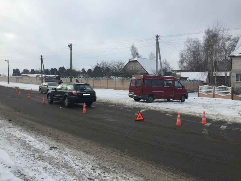 В Бобруйске 2 декабря около полудня Subaru Legacy Outback, за рулем которого находился 29-летний местный житель, сбил ребенка.