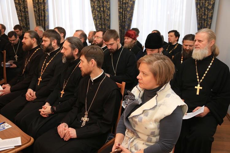 Состоялось общее собрание духовенства Бобруйской епархии