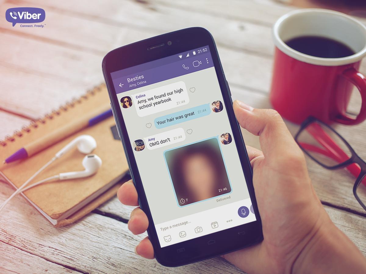 Viber рассказал, какими функциями мессенджера белорусы чаще всего пользовались в 2018 году