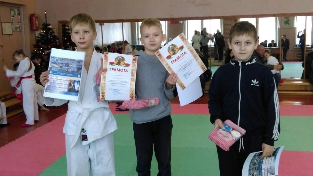 Соревнования по каратэ «Рождественские каникулы» прошли в Бобруйске