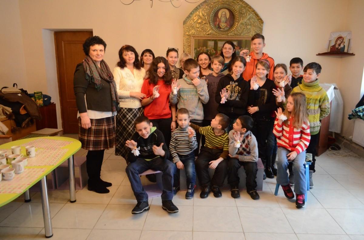Воспитанники социального приюта г. Бобруйска посетили Николо-Софийский храм