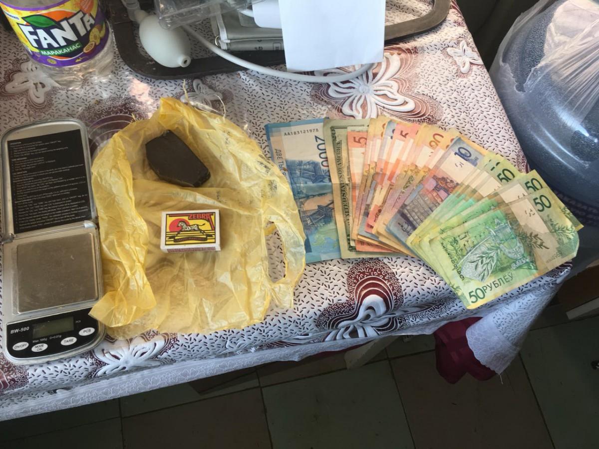 Оперативниками бобруйского наркоконтроля задержан сбытчик гашиша