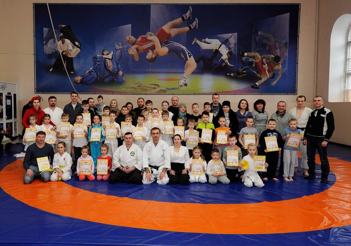 Экзамен юными спортсменами из Бобруйска сдан