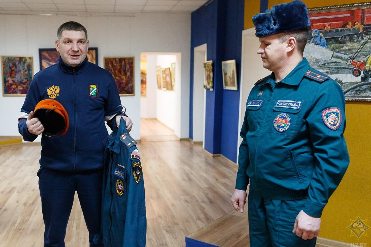 Спасатели из Наро-Фоминска пополнили бобруйскую коллекцию.