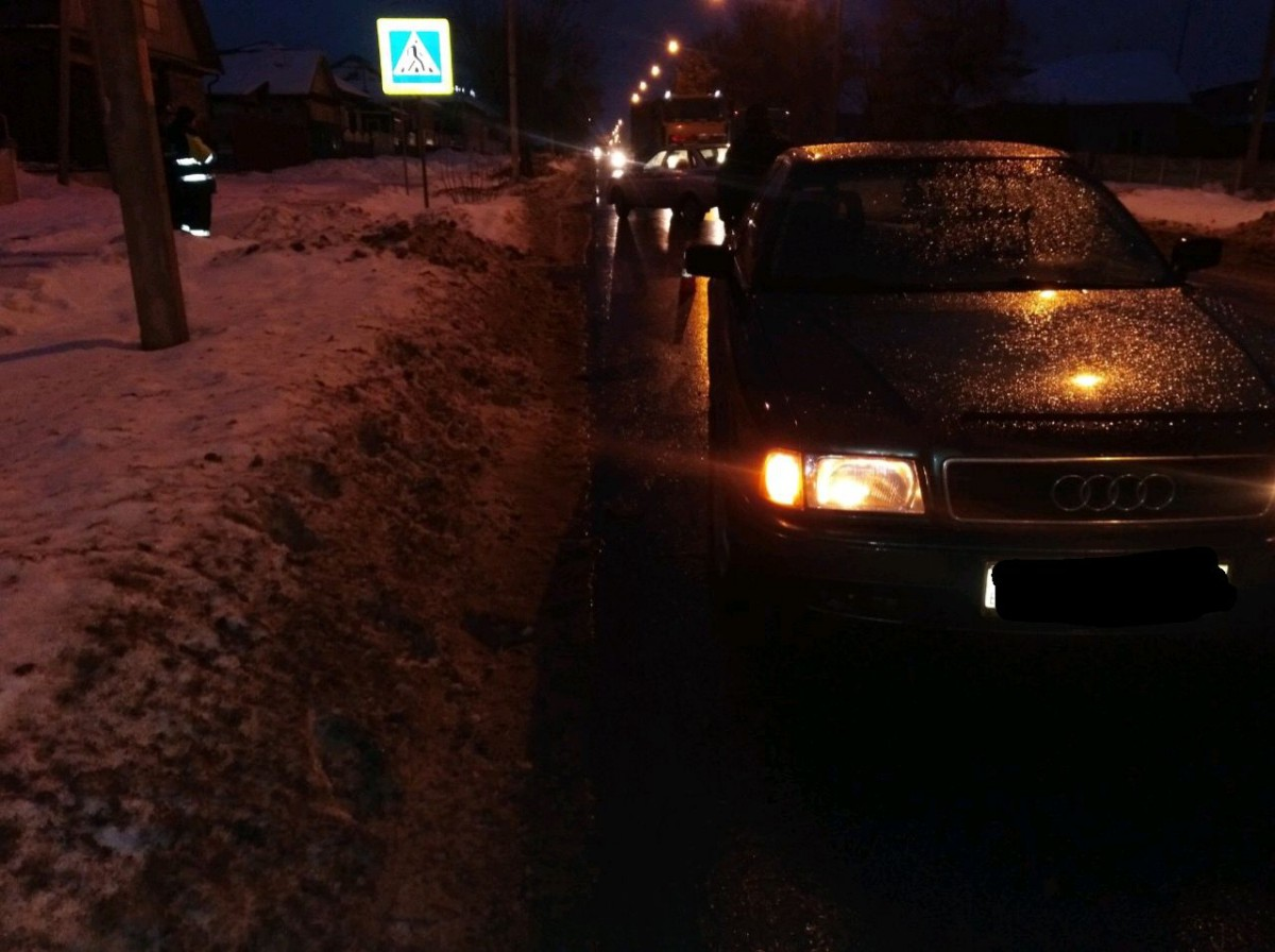 В Бобруйске на пешеходном переходе совершен наезд на местную жительницу