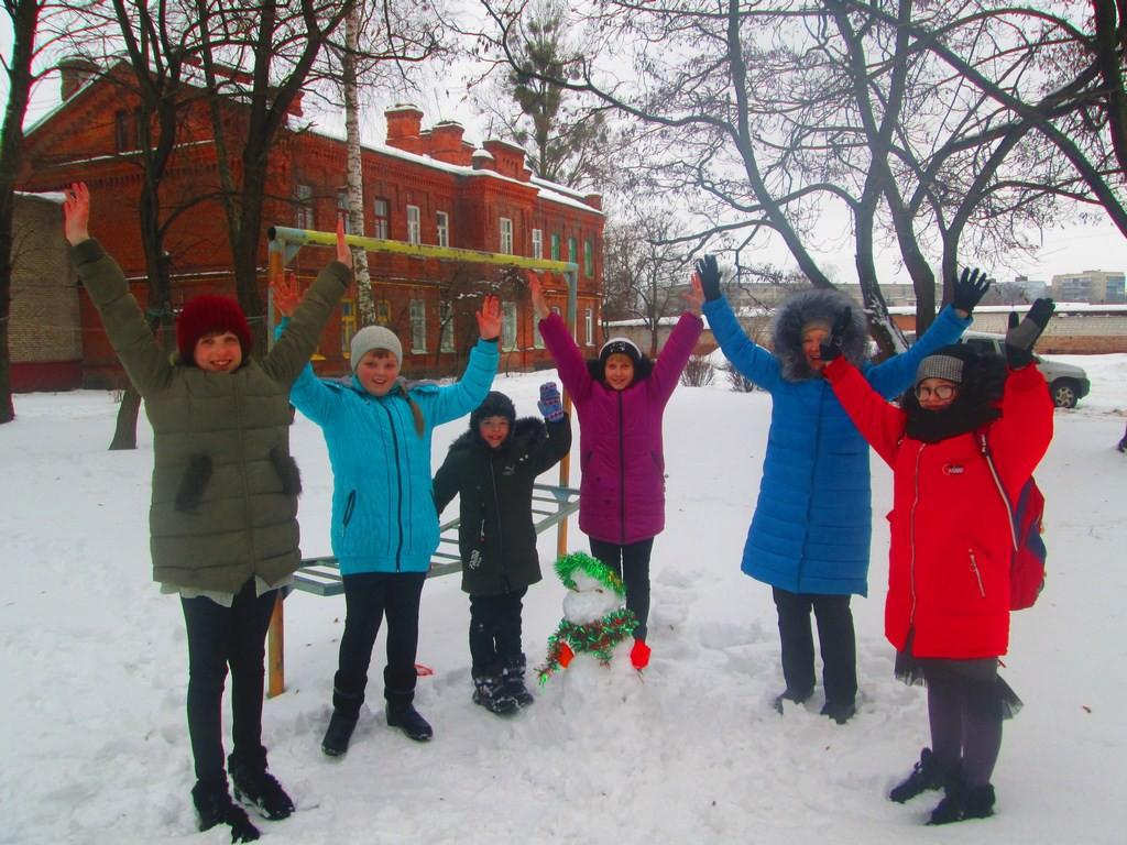 Бобруйские клубы по месту жительства провели День снега