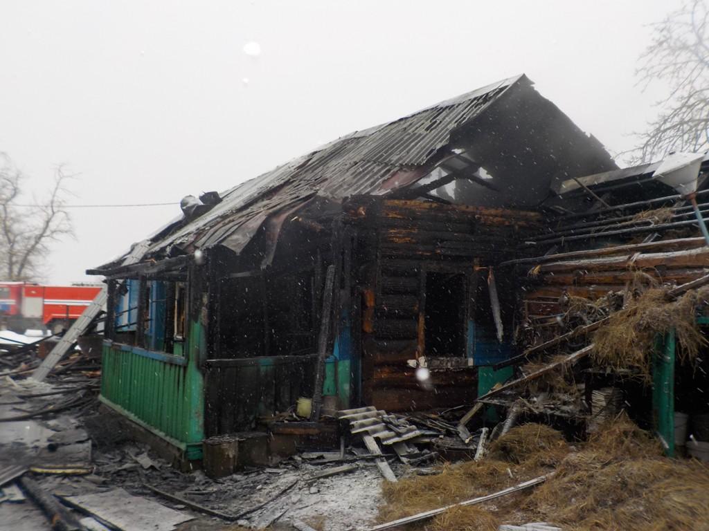 Субботним утром в агрогородке Телуша горел жилой дом