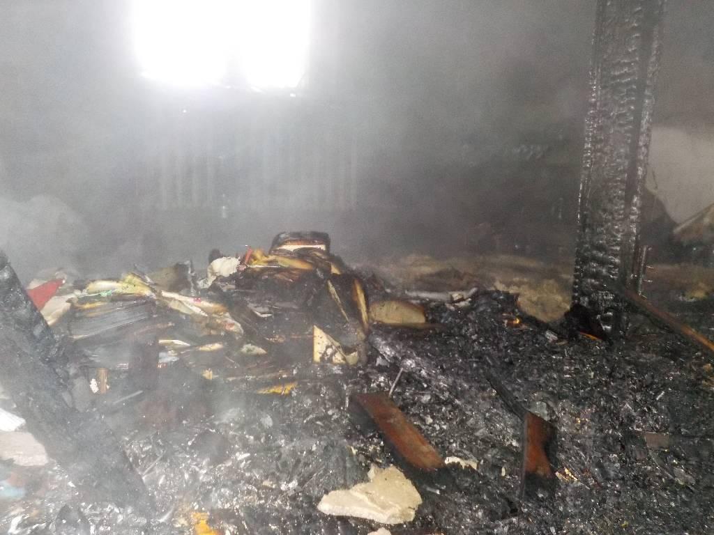 Пожар на чердаке в Дойничево ликвидирован