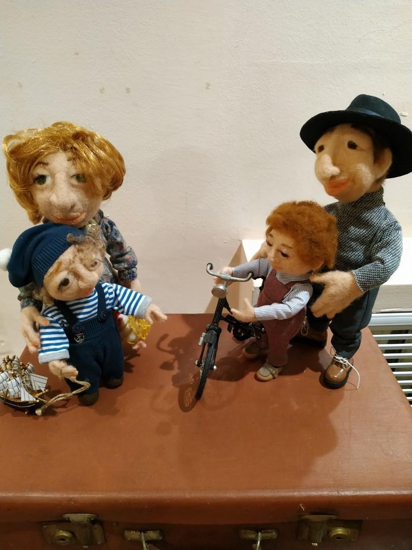 Удивительная выставка «Уходящая натура» - еврейская история в кукольных сюжетах