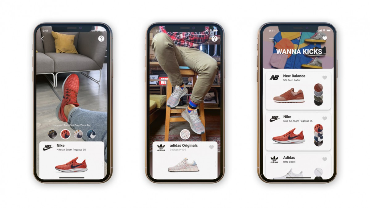 Белорусский стартап выпустил приложение, позволяющее «примерить» новые кроссовки до покупки