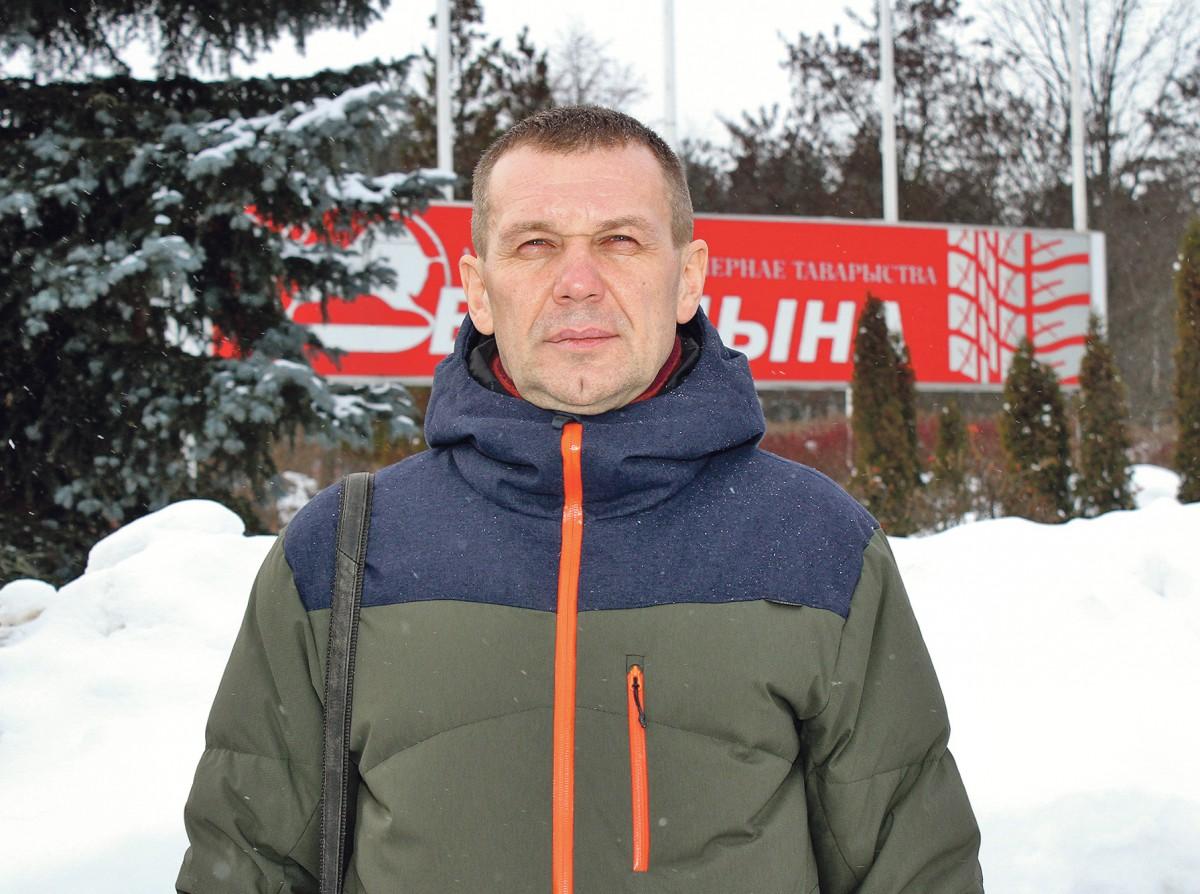 машинист резиносмесителя подготовительного цеха завода сверхкрупногабаритных шин Александр Даниилович ЧАВЛЫТКО