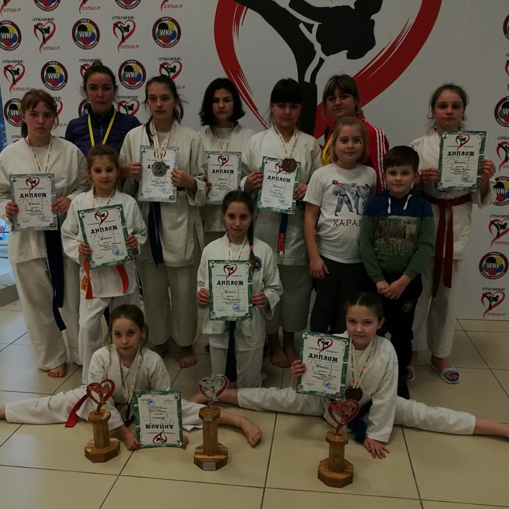 Юные каратисты Бобруйска приняли участие в международном турнире «Отважные сердцем»