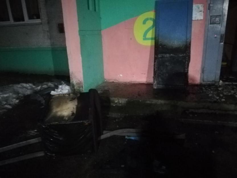 Пожар в девятиэтажке случился ночью в Бобруйске - виновных устанавливают