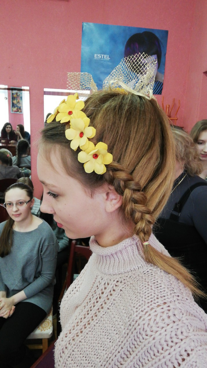 Конкурсная программа «Праздник причесок» прошла Бобруйске