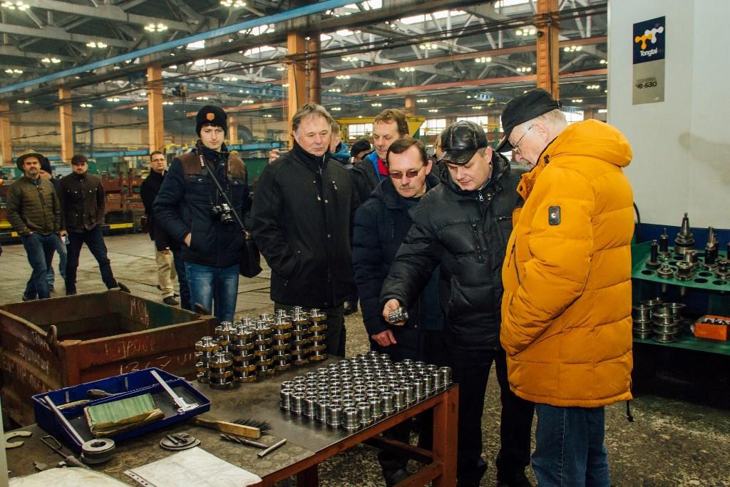Делегация фермеров из Чехии и Словакии посетила «Бобруйскагромаш»