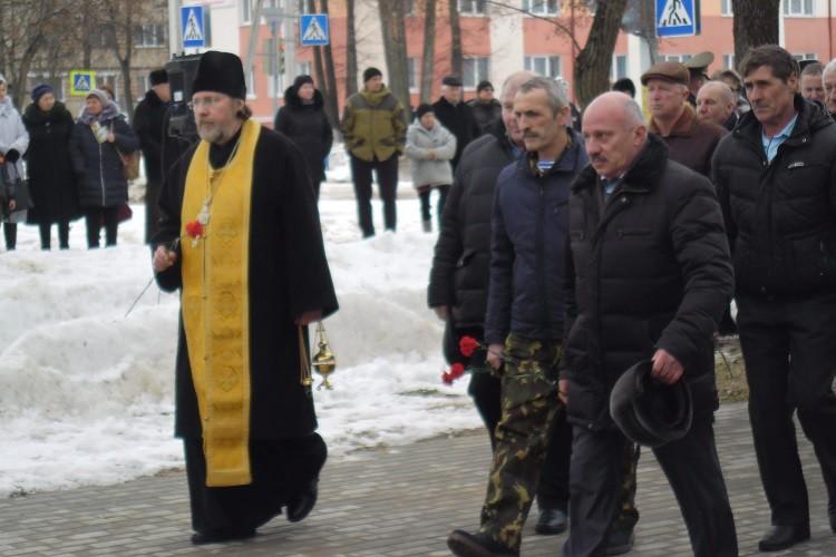Священник принял участие в мероприятии, посвященном 30-летию вывода советских войск из Афганистана