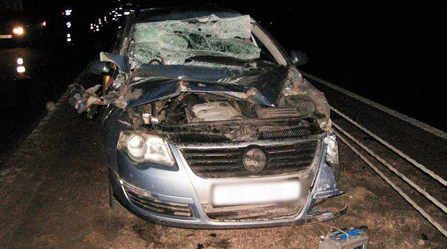 В Осиповичском районе легковушка столкнулась с фурой