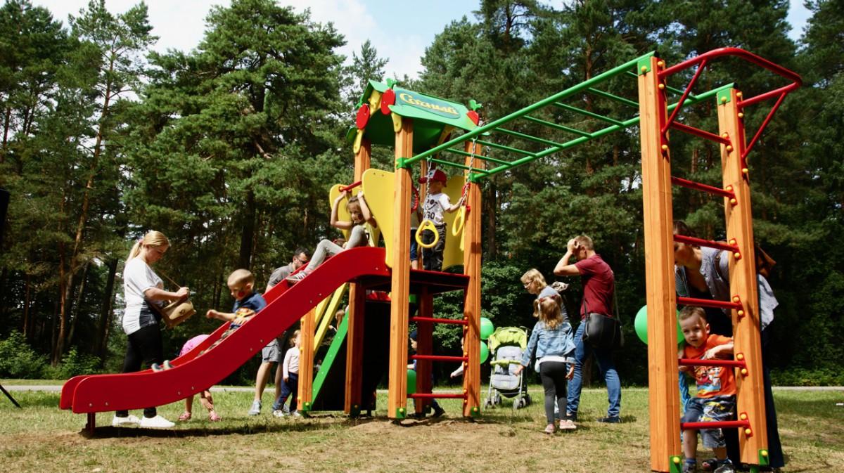 В Бобруйске установят три современных детских игровых комплекса