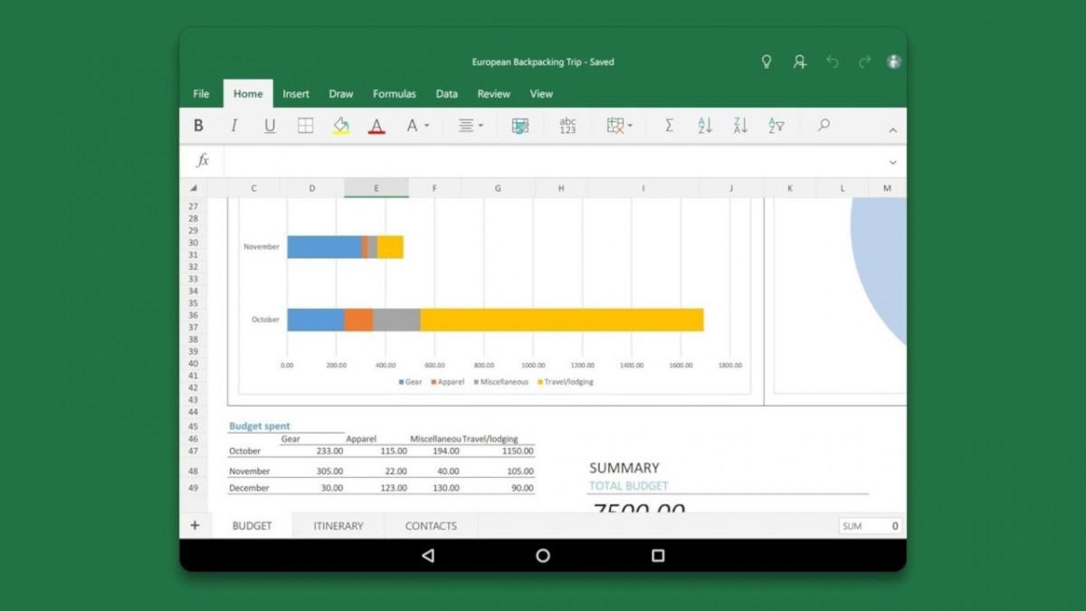 В мобильное приложение Excel Microsoft добавляет новую функцию