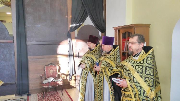 Совершена первая в текущем Великом посту Литургия Преждеосвященных Даров