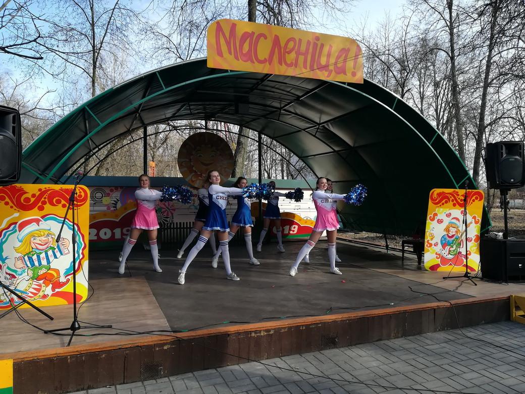 Детская концертно-игровая программа в рамках городского праздника «Масленица»