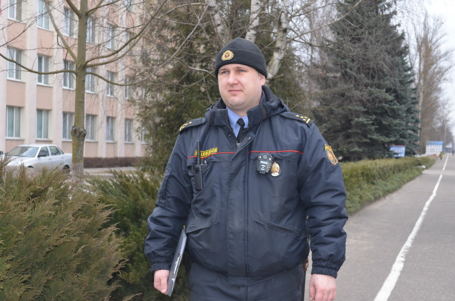 Принцип бобруйского участкового капитана милиции Андрея Комара – доводить все до конца