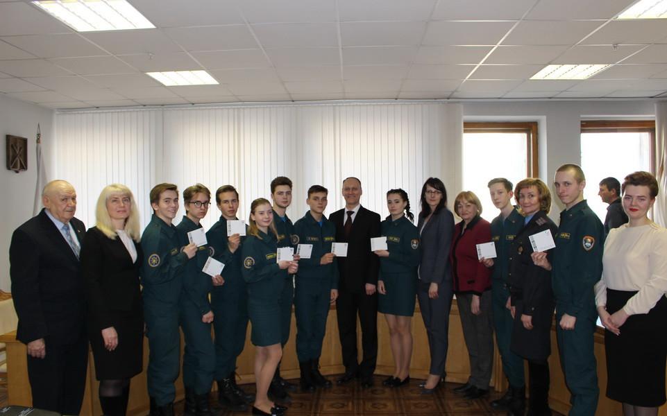 В День конституции в Бобруйске вручали паспорта