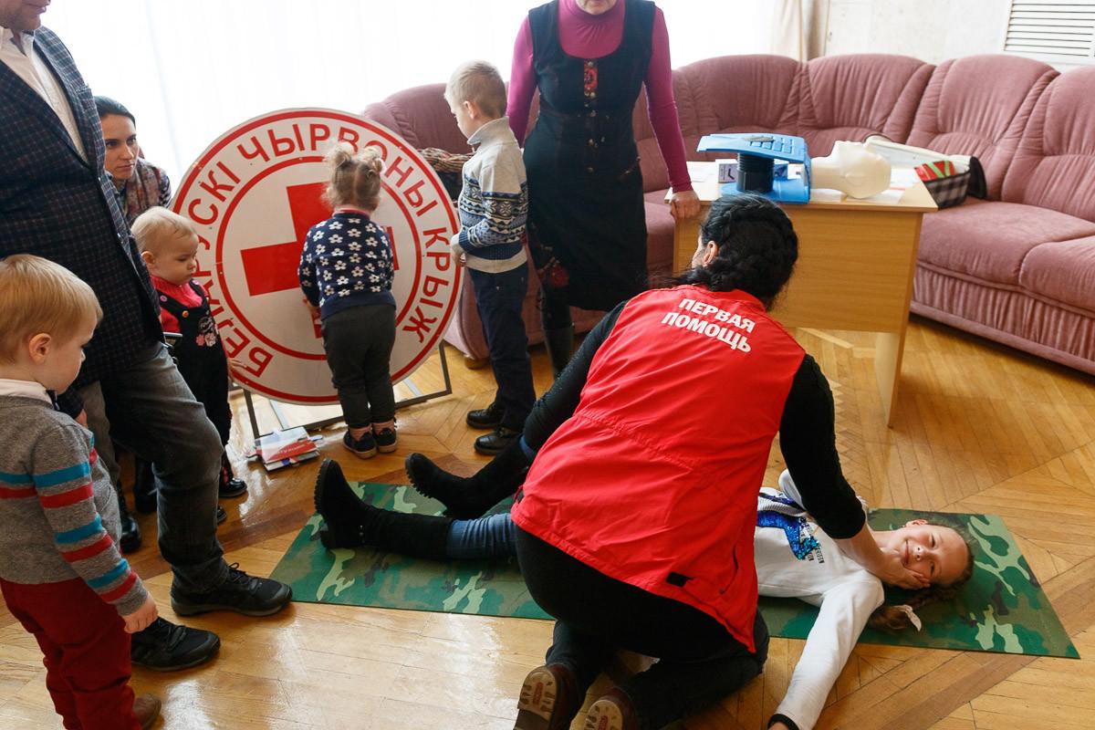 «День безопасности. Внимание всем!» в  Бобруйске