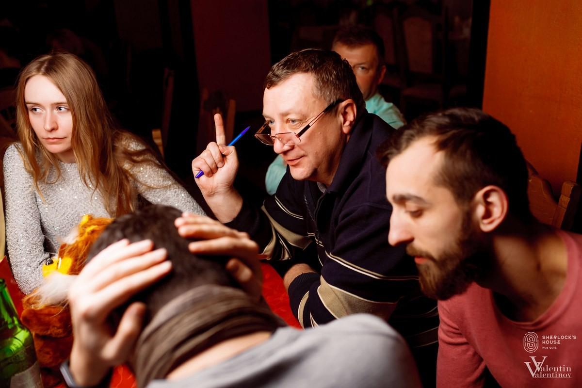 10-я игра паб-квиза Дом Шерлока отгремела в Юбилейке