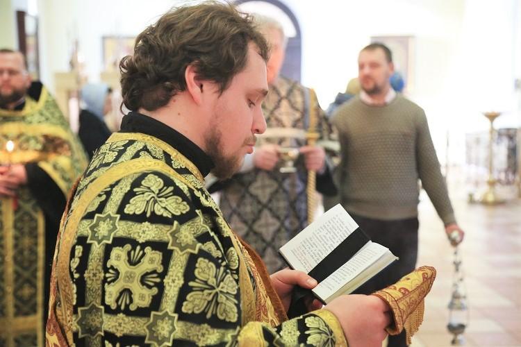 В Никольском кафедральном соборе совершена первая в текущем Великом посту Пассия