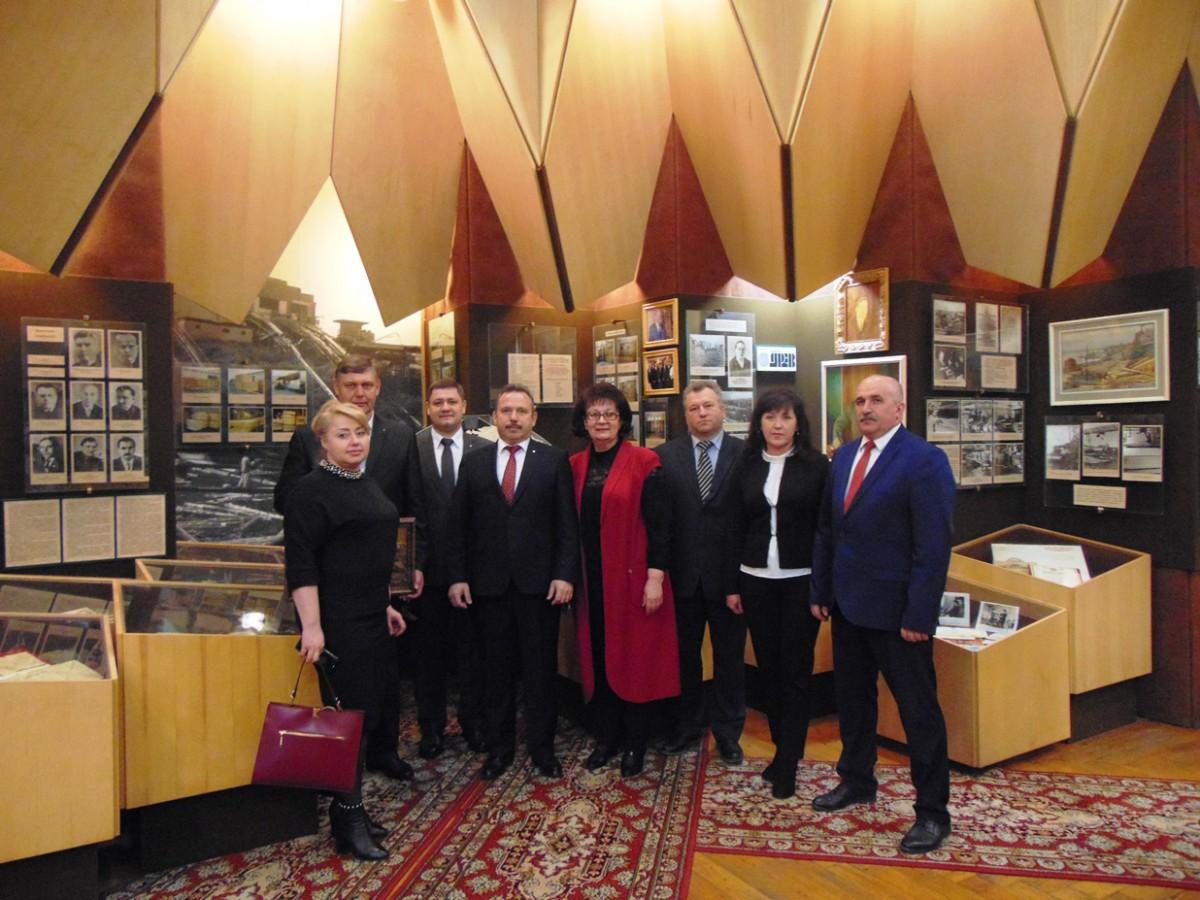 Встреча с председателем правления ОАО «АСБ Беларусбанк» Ананичем Виктором Михайловичем