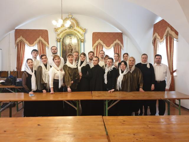 Представители Бобруйской епархии приняли участии в праздничном концерте, посвященном празднику Благовещения
