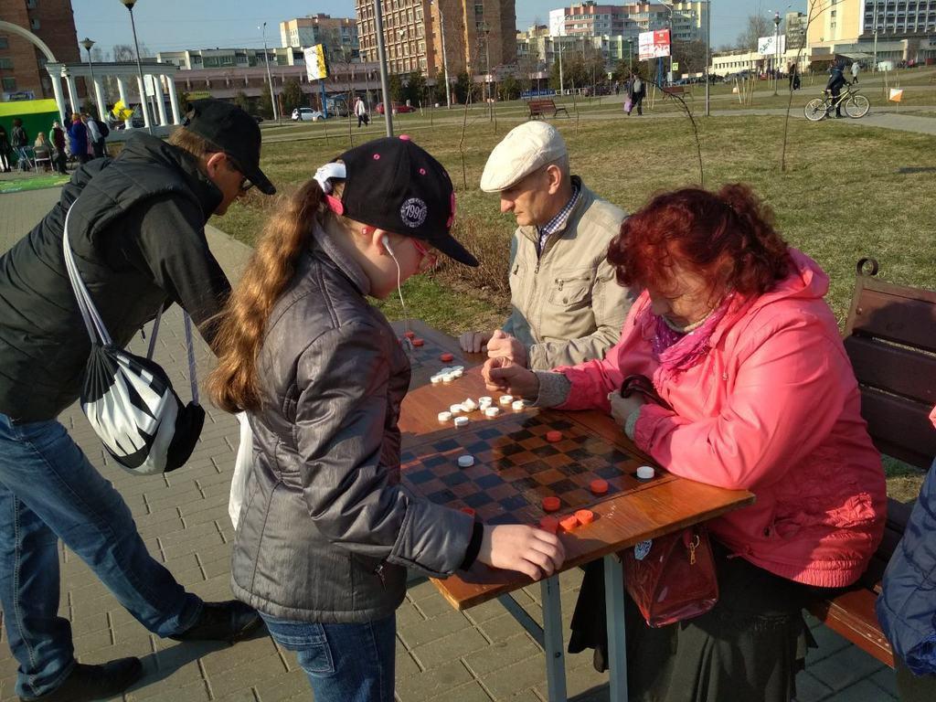 Первомайский район Бобруйска идет навстречу спорту и здоровью