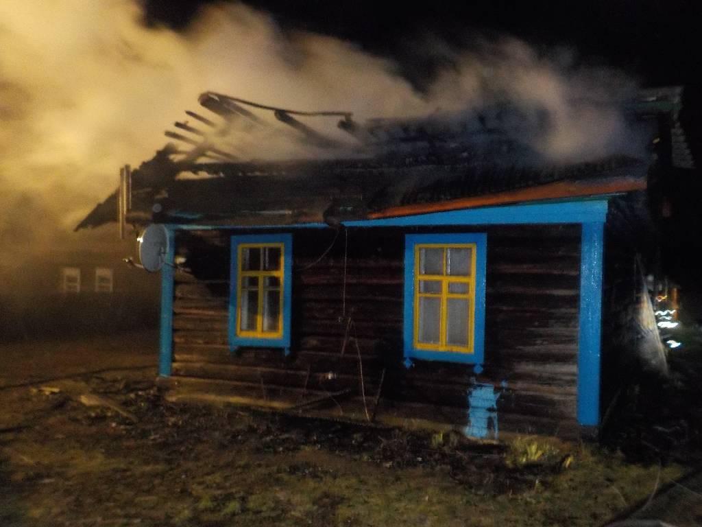 Пожар в дачном доме