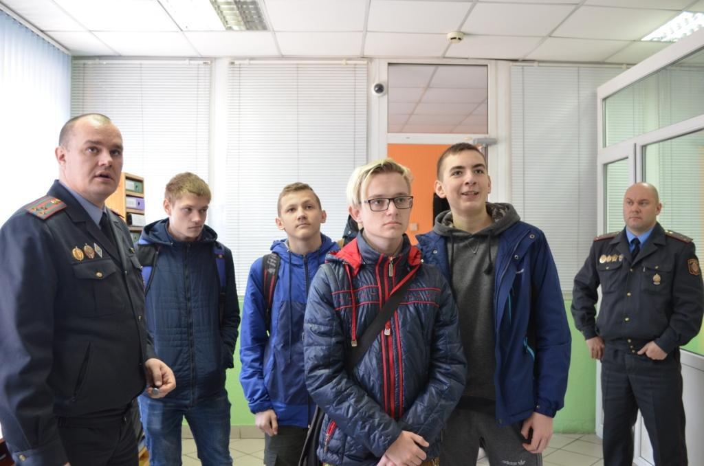 День открытых дверей прошел в УВД Бобруйского горисполкома