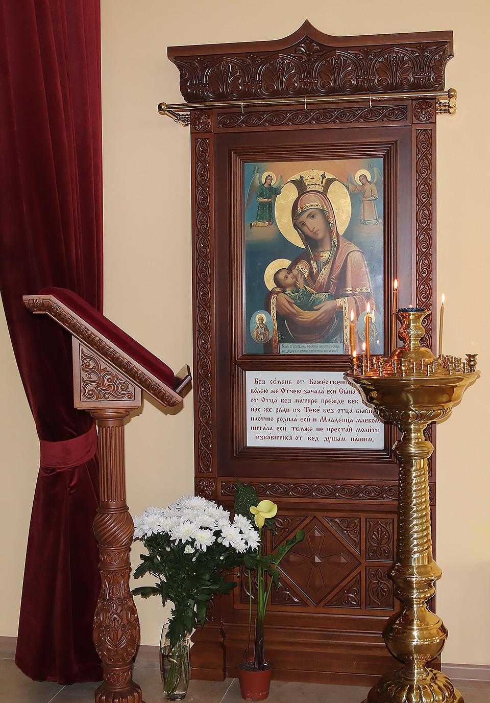 Древняя икона Пресвятой Богородицы передана в дар бобруйскому центру «Покрова»