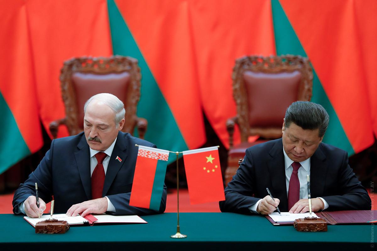 Лукашенко отправляется в Китай