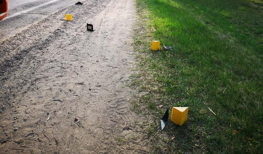 В Слуцком районе фура насмерть сбила велосипедиста