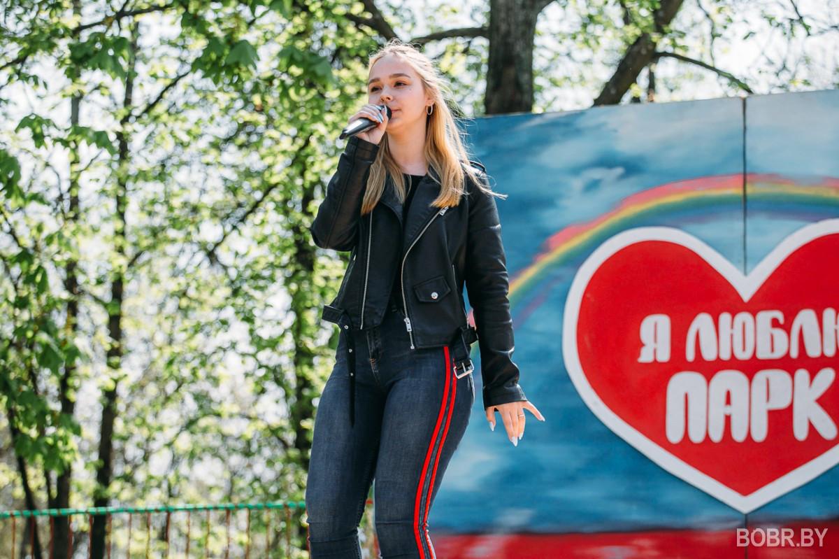 Бобруйский городской парк открыл сезон аттракционов