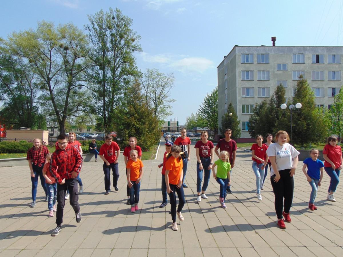 Флешмоб «Танцуй в ритме сердца» прошел в Бобруйске