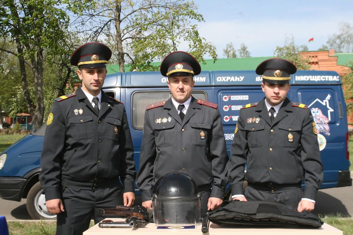 Акция «Спокойствие. Надежность. Безопасность» в городе Бобруйске