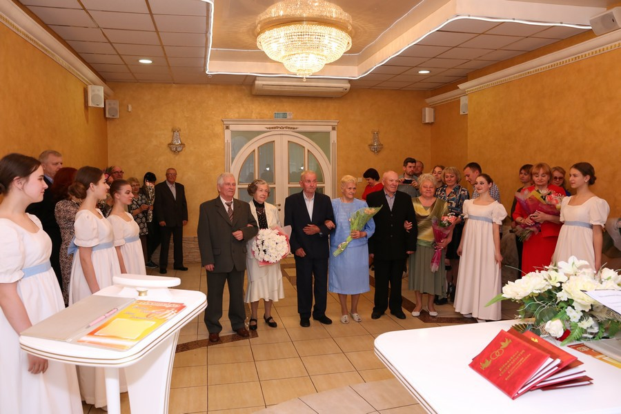 Драгоценные юбилеи свадьбы