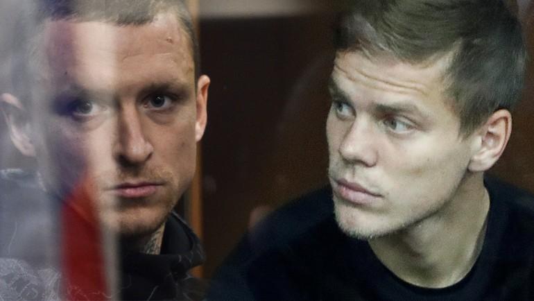 Футболистов Александра Кокорина и Павла Мамаева